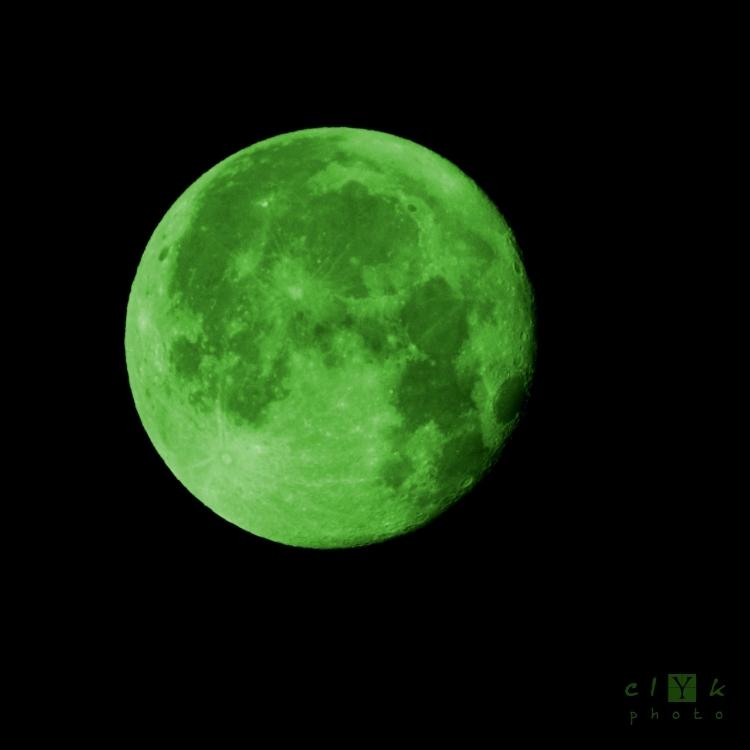 clYk full moon green pleine lune vert watermelon