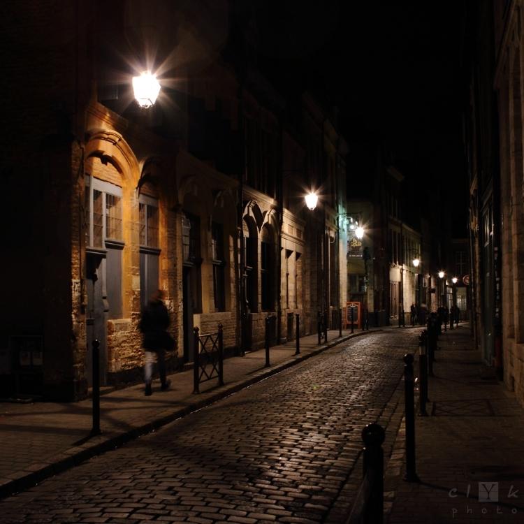 clYk night urban lights nuit ville Lille
