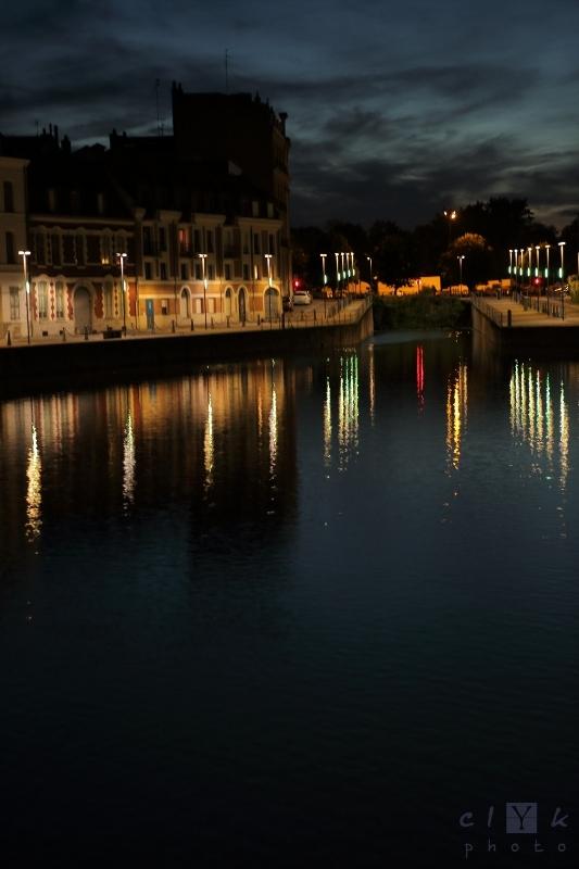 clYk urban night lille france nuit ville