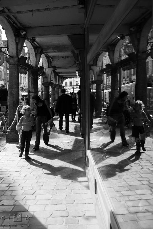 clYk street children reflection rue enfants reflet