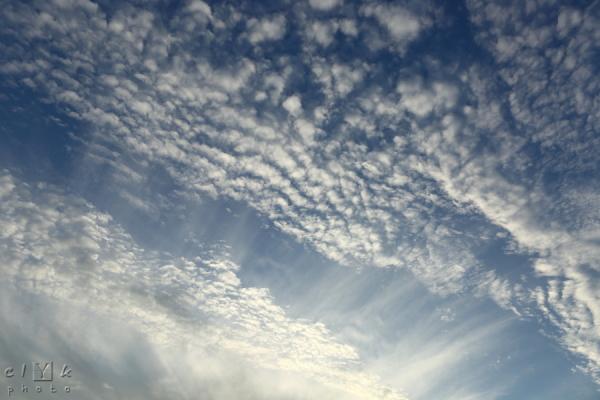 clYk clouds nuages altocumulus sky ciel