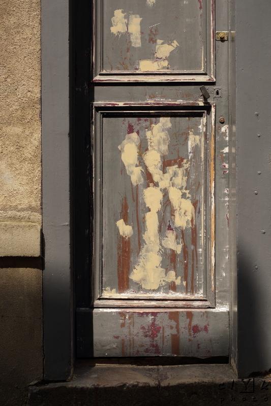 clYk door paint porte peinture