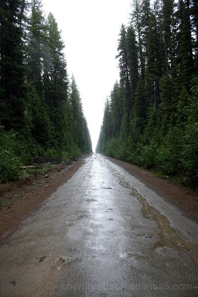 Rainy corridor