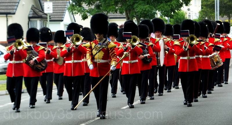 The Band Of The Welsh Guards .