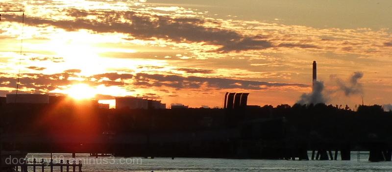 A Golden Evening . . .