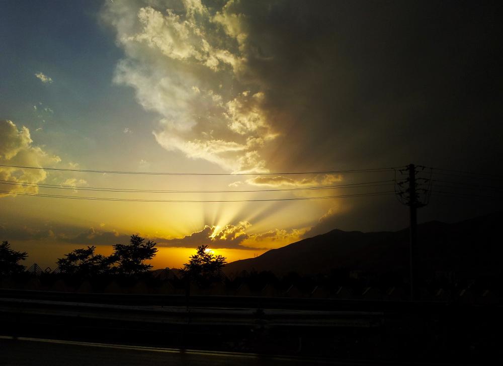 شکوه ابرها