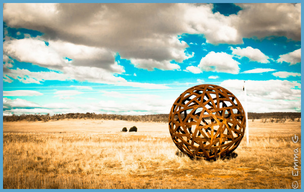 Monaro Highway Sculpture - Cooma, NSW