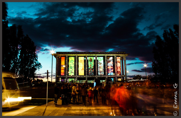 National Library of Australia - Enlighten Festival