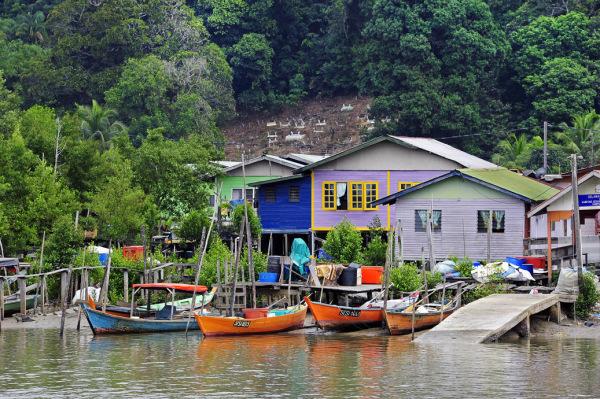 Fishing Village - Kuching, Sarawak