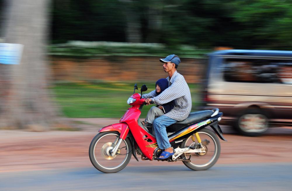 Front Pillion Rider