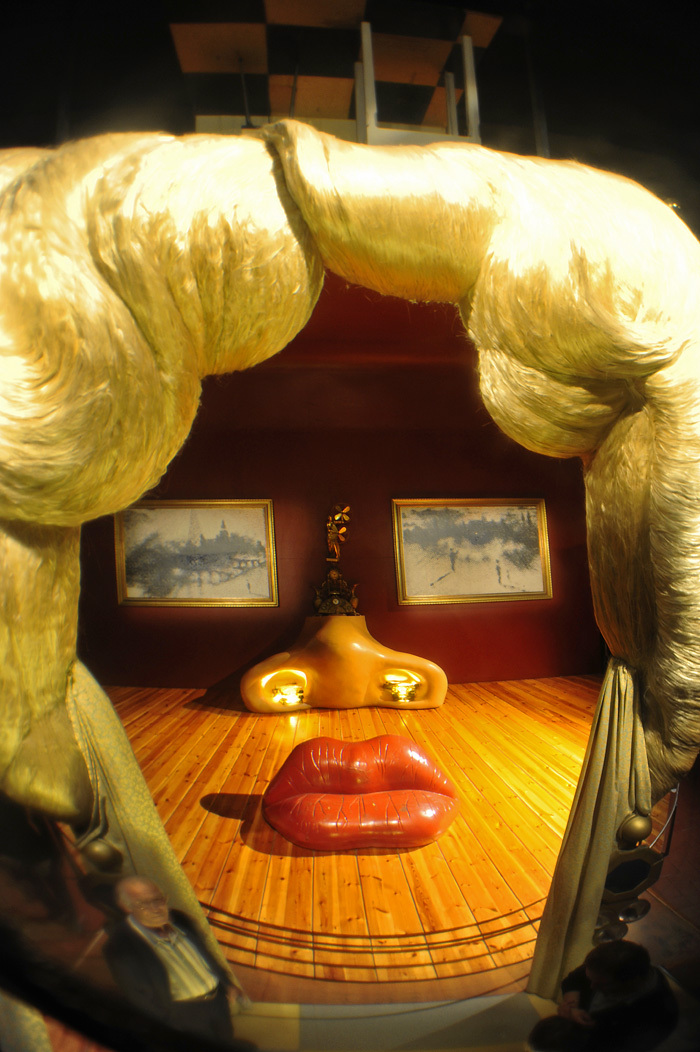 Mae West by Salvador Dali