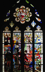 Orleans Cathedral - Stained Glass Window