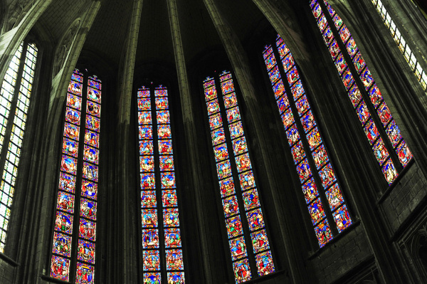 Orleans Cathedral - Stained Glass Windows