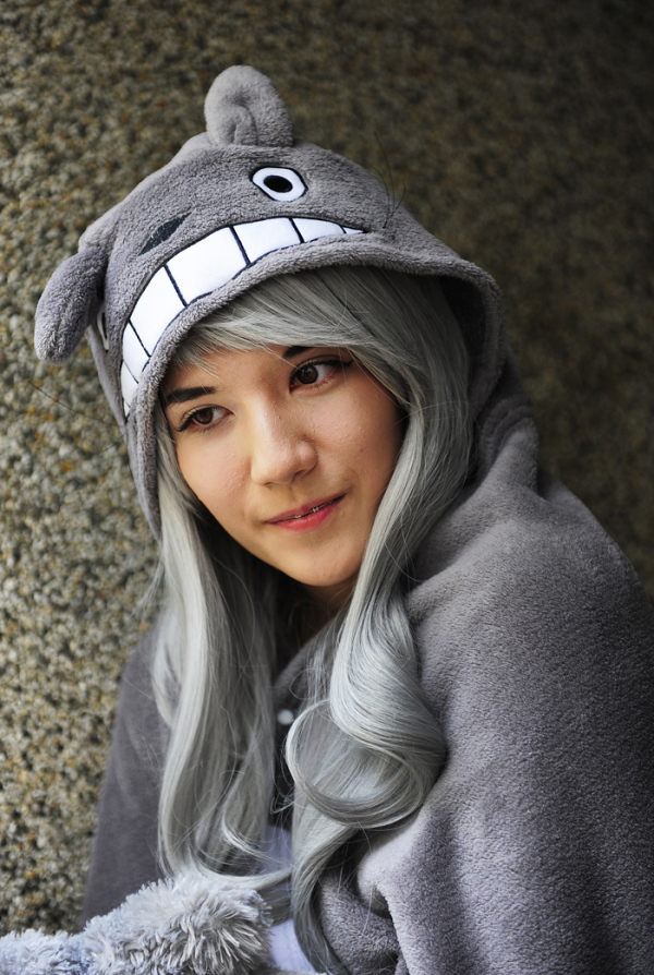 Girl in Grey