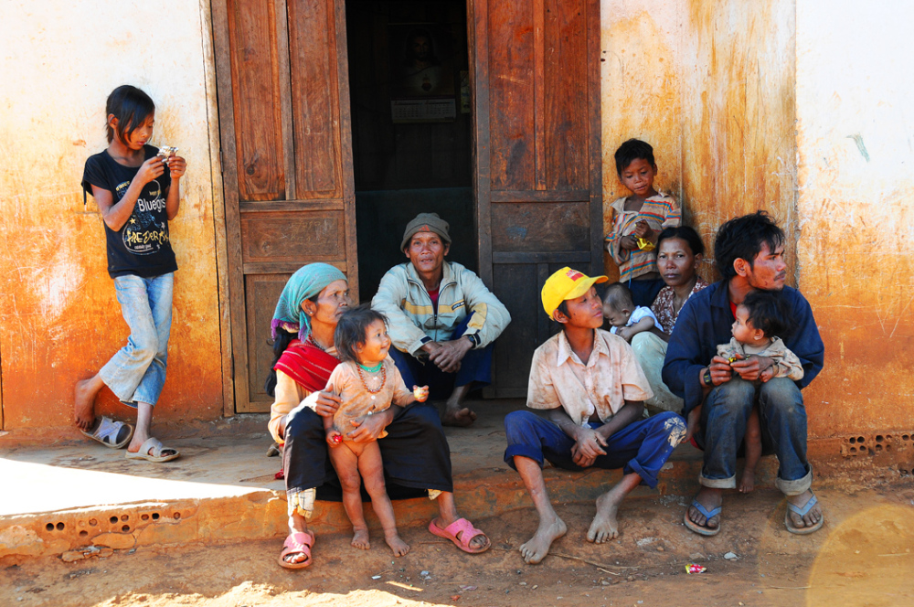 A Kho Lat Family - Dalat, Vietnam