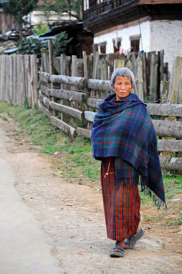 A Woman in Gantey (Bhutan)