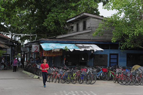 Bicycle Hire Shop on Ubin Island