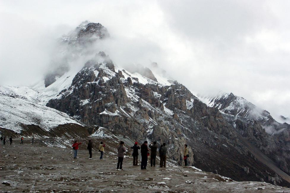 Huanglong Mountain, China