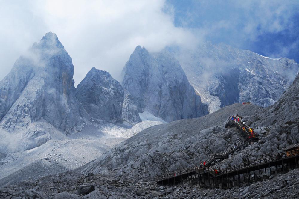 Jade Dragon Mountain Summit, Yunnan, China