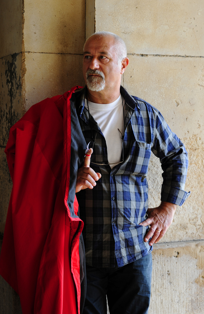 Man with a Red Cape