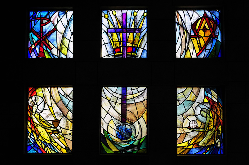 Stained-Glass at Nelson Cathedral