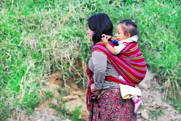 Mother & Child #4 - Piggy-back