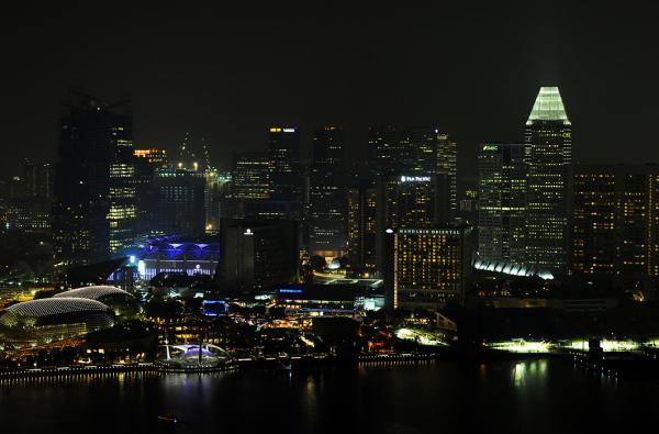 Singapore by Night - Suntec City Area