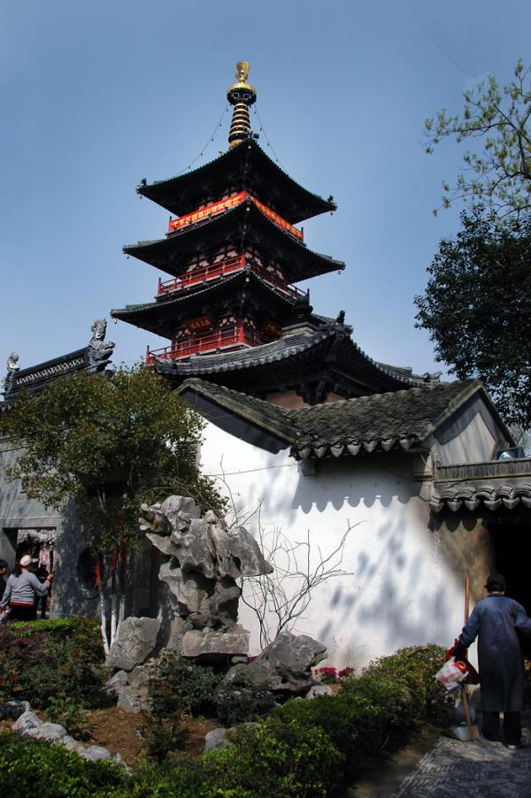 Hanshan (Cold Mountain) Temple in Suzhou
