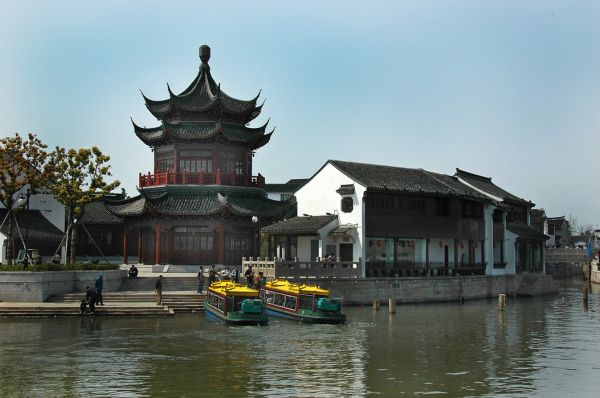 Pavilion by a Suzhou Canal