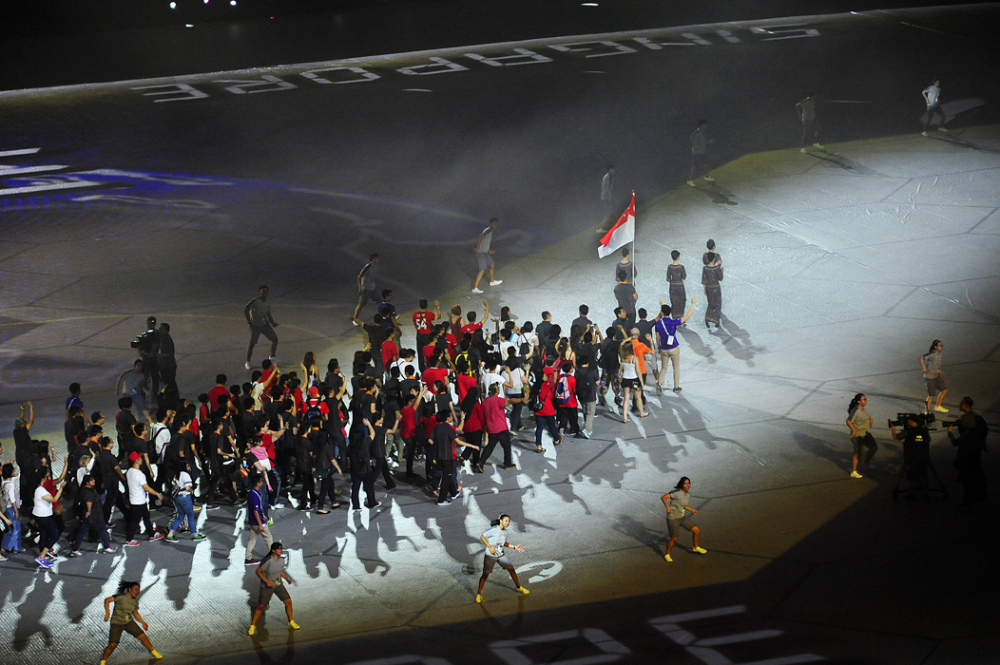 Singapore Contingent - South-East Asian Games