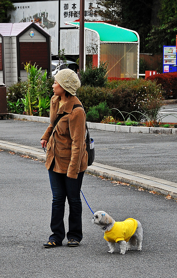 A Woman and Her Dog