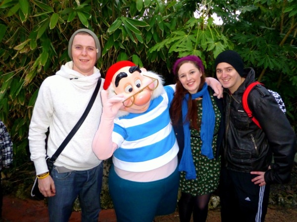 Me, Mr Smee, Rebecca and Lex