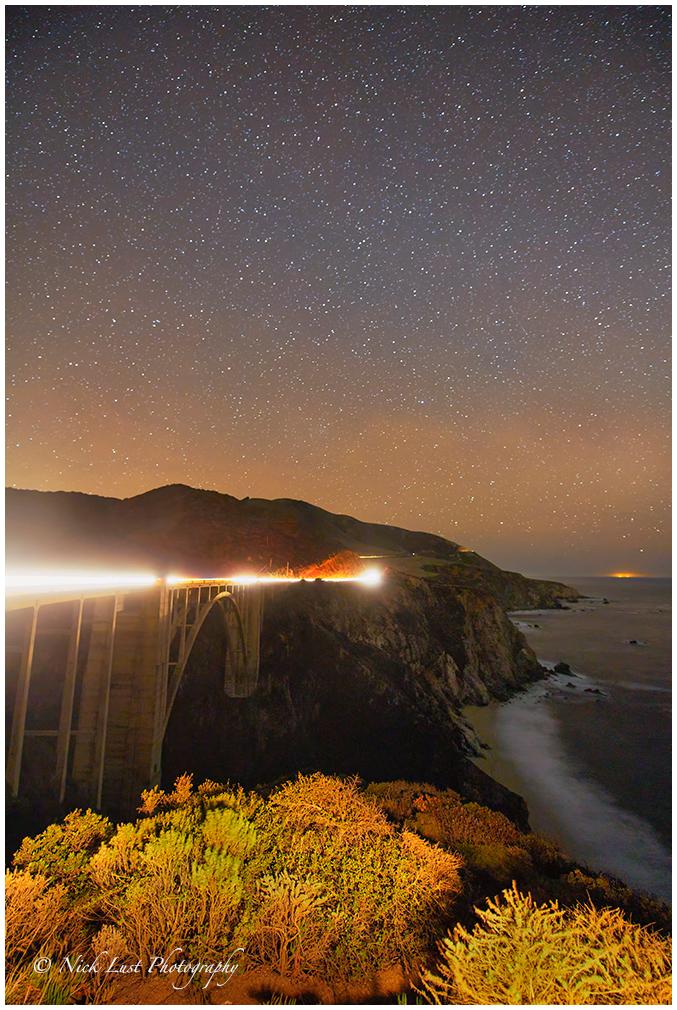 bixby bridge, big sur, california coast
