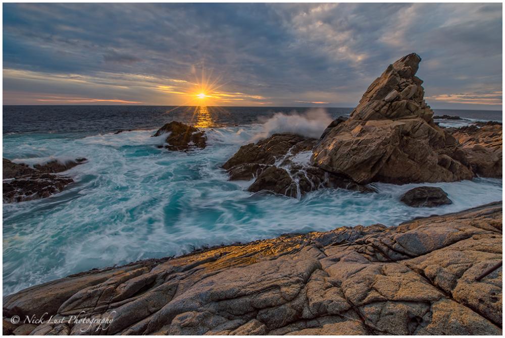 matterhorn rock, garrapata state park, california