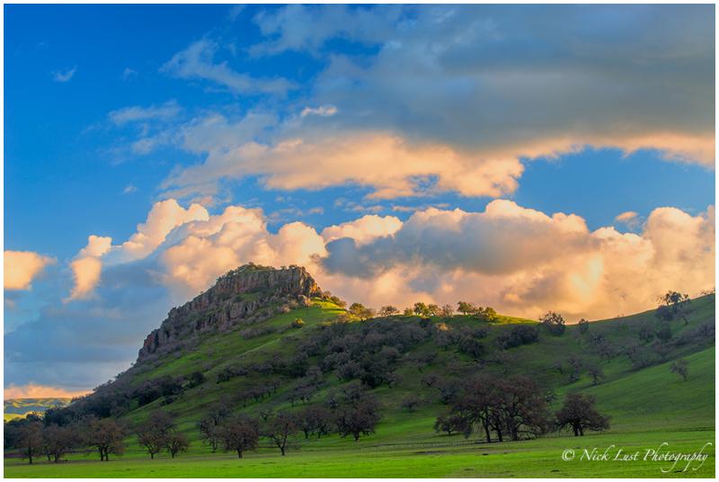 san benito county; california; sunset