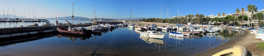 Port du Palm Beach à Cannes