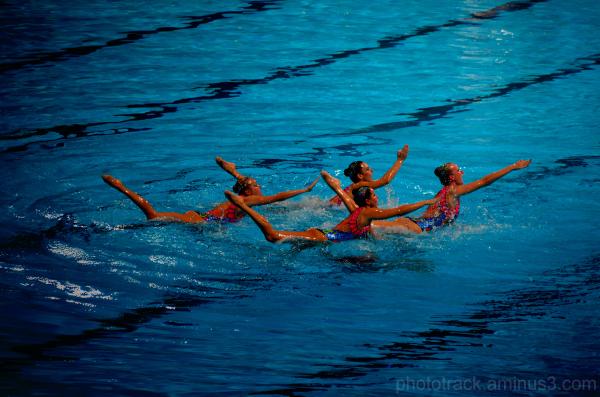 fina barcelona 2013 mundial swimming sincronizada