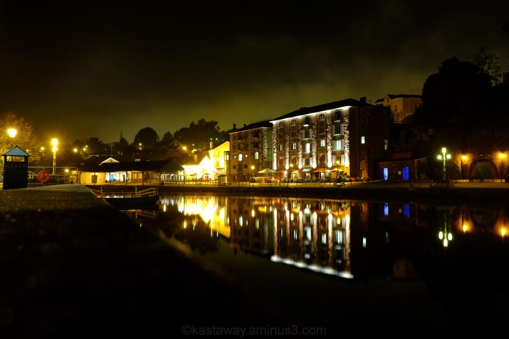 Exeter Devon Night Shot Long Exposure