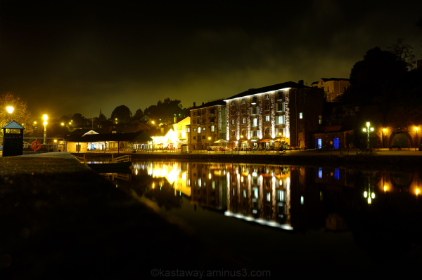 Exeter Devon Night Shot Long Exposure