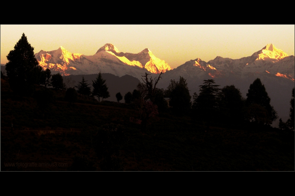 Mount Nanda Devi in Himalayas