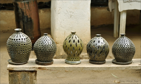 Pottery from Nigeria, Africa