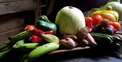 Naturalez morte / Fresh vegetables and fruits