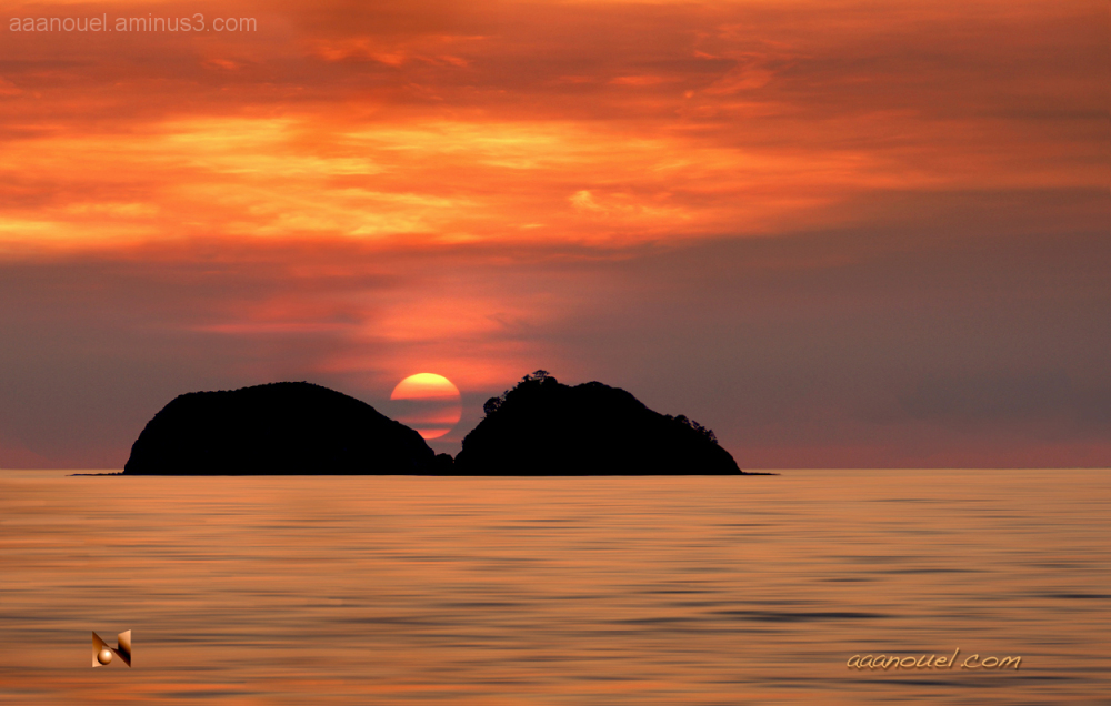 manuel antonio costa rica sunset clouds aaanouel