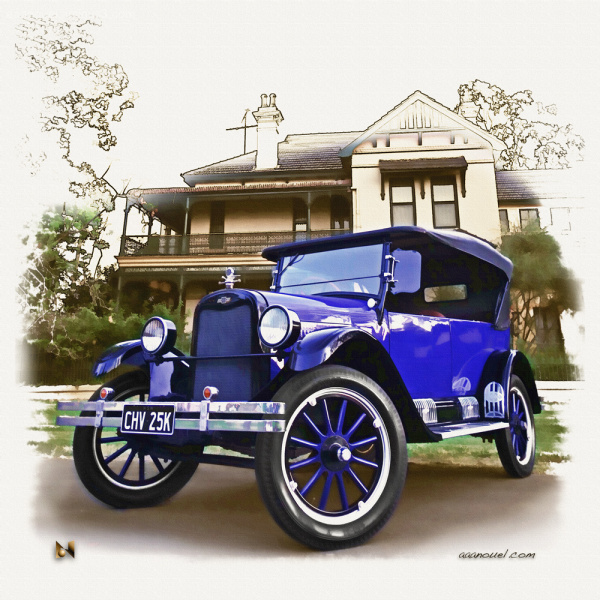 Ryan Chevrolet Chevy 1920 AU aaanouel vintage