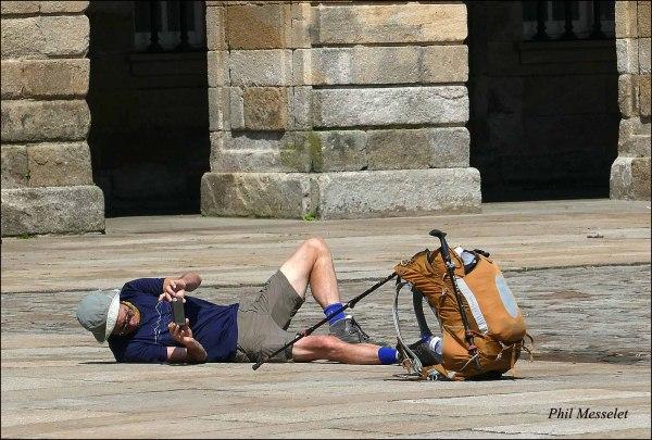 Selfie Saint Jacques de Compostelle