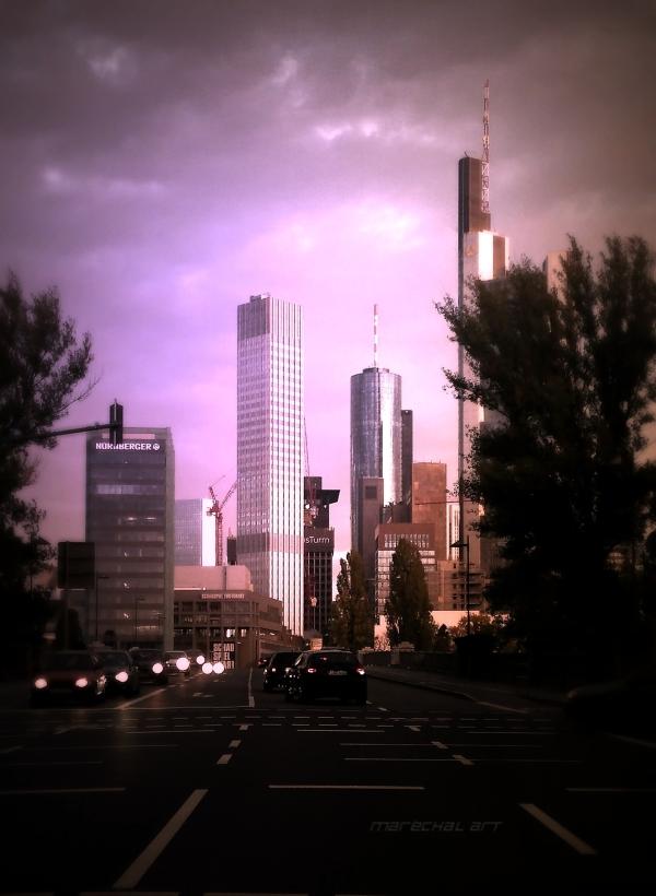 Friday Morning in Frankfurt on Main