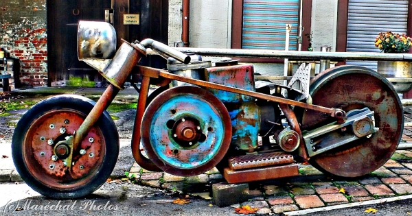 Big rusty Bike