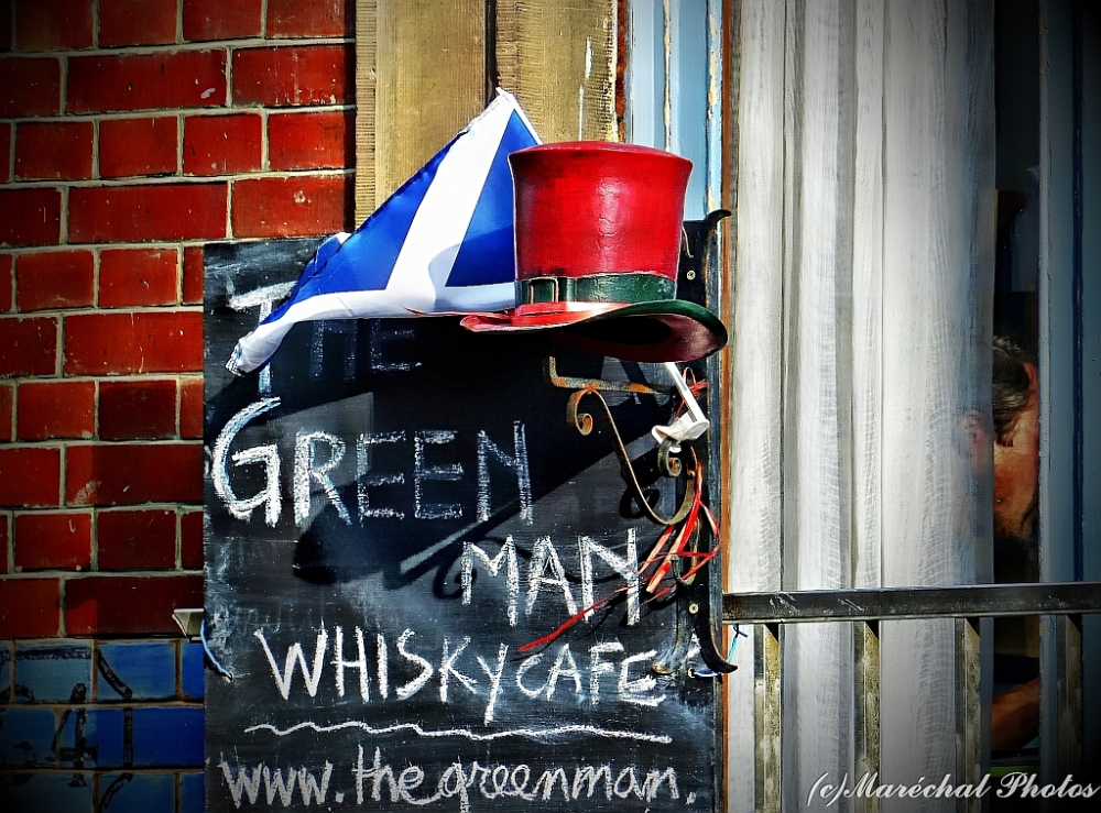 Green Man - Red Hat