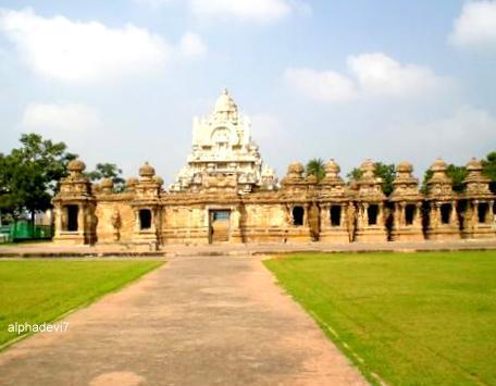 Kailasanatha Temple at Kanchipuram