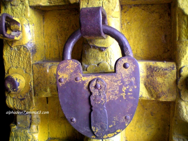 A lock as old as the door